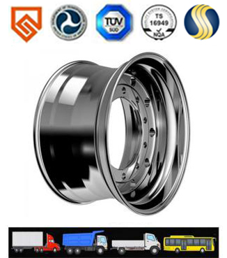 Trucks Forged Aluminum Wheel Which Has The Low Wear Rates Is The Hot Product In The United States An